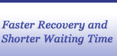 Faster recovery and shorter waiting time